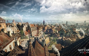 Picture city, the city, game, The Witcher 3: Wild Hunt, Novigrad, Novigrad