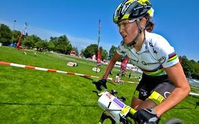 Picture bike, sport, Irina Kalentieva