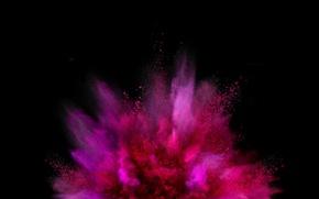 Picture the explosion, paint, LG G Flex 2