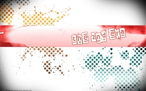Picture style, graphics, vector drawing, the 2nd era