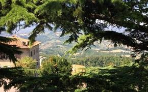 Picture landscape, Italy, San Marino