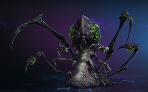 Picture Zerg, Blizzard, StarCraft 2 Heart of the swarm, heroes of the storm
