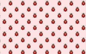 Picture background, ladybug, texture, art, bug