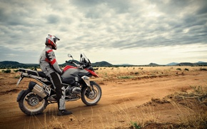 Picture road, BMW, Savannah, Africa, South Africa, R1200GS