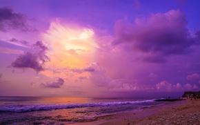 Picture beach, the ocean, coast, wave, Bali, Indonesia, The Indian ocean, Bali, Indonesia, Indian Ocean, Dreamland …