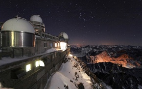 Picture Observatory, Pic Du MIDI, French Pyrenees