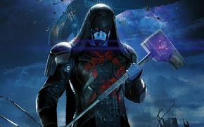 Wallpaper spaceship, Guardians Of The Galaxy, Guardians of the Galaxy, Lee Pace, Lee Pace, comic, villain, ...
