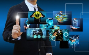 Picture scheme, technology, Internet, business
