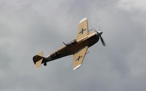 Picture single-engine, Bf.109G, fighter, Messerschmitt
