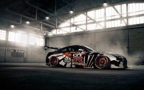 Picture machine, tuning, GTR, Nissan, car
