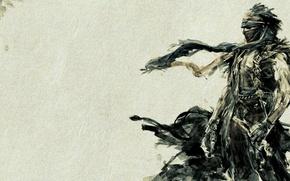 Wallpaper style, clothing, warrior, art, POP