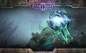 Picture Protoss, StarCraft 2 Heart of the swarm, Oracle