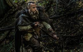 Picture forest, bow, arrow, VIN Diesel, Vin Diesel, The Last Witch Hunter, The last witch hunter