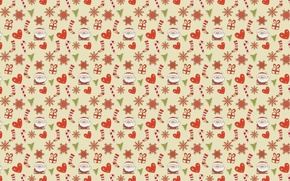 Picture holiday, New year, Santa Claus, caramel
