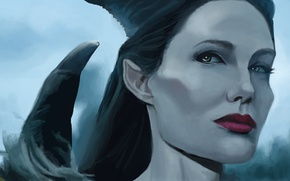 Picture Angelina Jolie, Angelina Jolie, The film, Maleficent, Maleficent