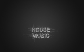Picture style, music, minimalism, words, house music, performers