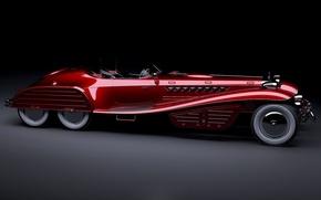 Picture car, cinema, German, red, fantasy, supercar, design, prototype, Germany, Marvel, movie, Captain America, film, shield, …