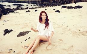 Picture Girl, Nature, Legs, Music, Asian, Beach, Beauty, SNSD, Kpop, Cute, Singer, Yoona, Outdoor, Girls' Generation, …