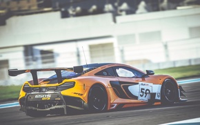 Picture McLaren, GT3, Abu Dhabi, 2014, 650S, Yas Marina