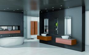Picture design, style, interior, luxury bathroom