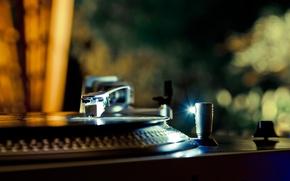 Picture macro, music, gramophone