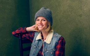 Picture photoshoot, Brooklyn Decker, for the film, Results