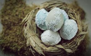Wallpaper holiday, spring, eggs
