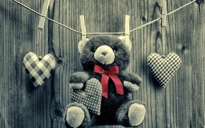 Picture love, bear, love, toy, bear, heart, romantic, sweet, Teddy