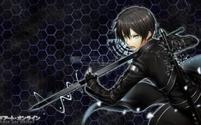 Picture sword, game, anime, short hair, katana, boy, MMORPG, hero, asian, manga, season one, japanese, RPG, …
