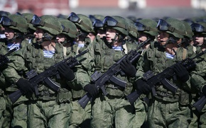 Wallpaper May 9, soldiers, Army, Victory Parade 2016, Russia