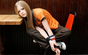 Picture girl, photo, singer, Avril Lavigne, Avril lavigne