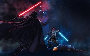 Picture Darth Vader, Galen Marek, Starkiller, Star Wars: The Force Unleashed, Anakin Skywalker