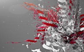 Wallpaper tomyoda, liquid, the explosion