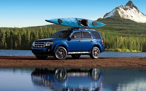 Picture Ford, Cars, Blue, SUV, Goodlife