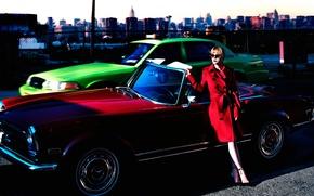 Wallpaper S Moda, 2016, auto, photoshoot, Christina Ricci, Christina Ricci
