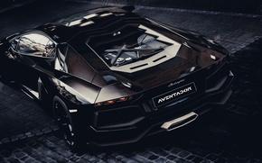 Picture Lamborghini, rear, Gran Turismo 5, LP700-4, Aventador, LB834, GT5