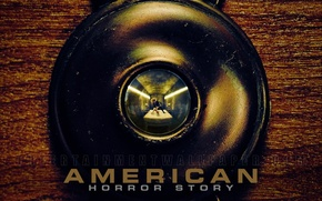 Picture retro, Bed, record, The hotel, eye, horror, American horror story, american horror story, Cortez