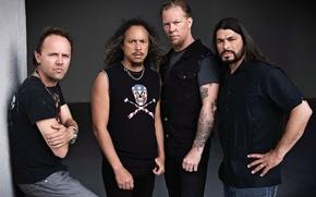 Picture metal, music, people, group, rock, metallica