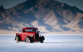 Picture car, retro, Ford, truck, pickup, rechange, ford bonneville