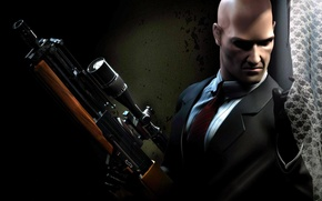 Picture weapons, ambush, Hitman
