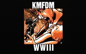 Picture music, album, metal, rock, industrial, KMFDM, WWIII, electro-industrial