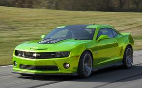 Picture road, car, machine, Chevrolet, Camaro, speed, Hot Wheels