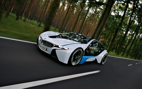 Wallpaper BMW, vision, efficientdynamics
