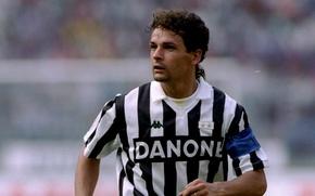 Picture juventus, Italian footballer, roberto-baggio