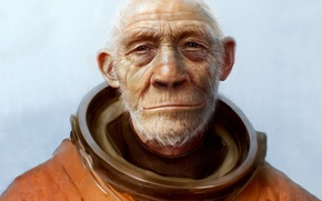 Wallpaper The suit, astronaut, 157, planet of the apes