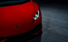Picture Lamborghini, Red, V10, Supercar, Exotic, Huracan, Ligth, LP640-4