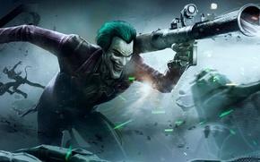 Picture batman, Joker, injustice