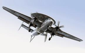 Picture flight, scout, radar, E-2C HawkEye