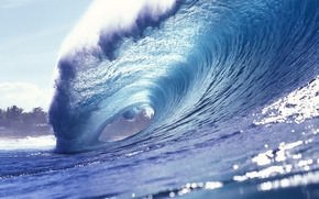 Picture water, Wallpaper, wave