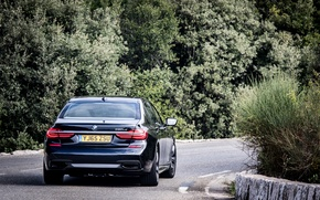 Picture BMW, rear view, Sport, 730LD, M-series